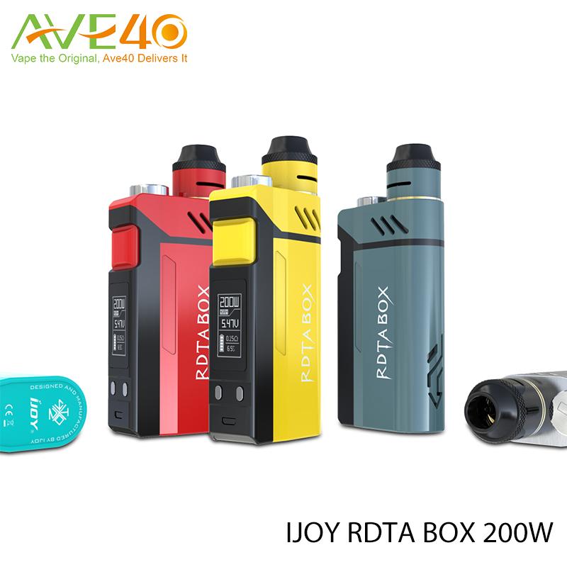 Prix pour D'origine ijoy rdta boîte 200 w tc mod ni/ti/ss mode ijoy rdta boîte 200 w kit
