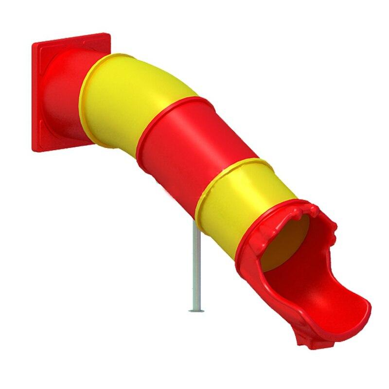 Customized Made Outdoor/indoor Playground Slide,1.5m Tube Plastic Slide Toys,amusement Tube Sliding Barrel For Kids