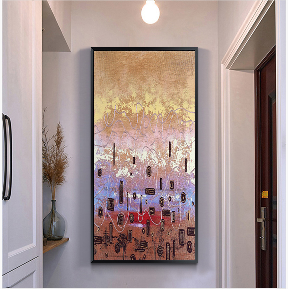Abstract Oil Paintings Canvas China