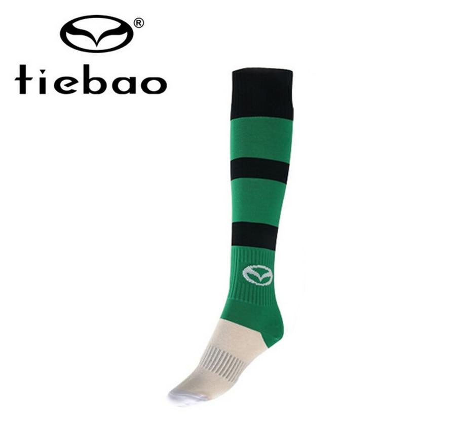 TIEBAO Men Soccer Socks 2016 Quality Football Game Profession Clubs Thicken Towel Socks Soccer Long Stocking