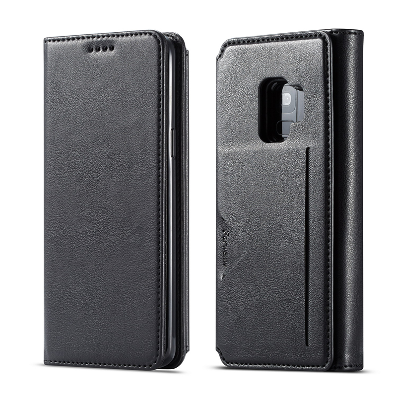 4 Card Holder Wallet Case For Samsung S10e S10 S9 Plus Case Magnetic Cover Luxury Leather Phone Case For Samsung Galaxy S10 Plus