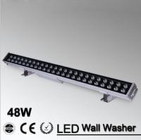 5pcs/lot Flood Spot Led Wall Washer Light 48w AC 220v 110V IP65 Waterproof RGB Wash Garden Lamp Outdoor Landscape Lighting