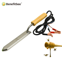 Benefitbee Outdoor Heating Electric Bee Honey Knife Apiculture For Beekeeper Stainless Steel Beekeeping Tools