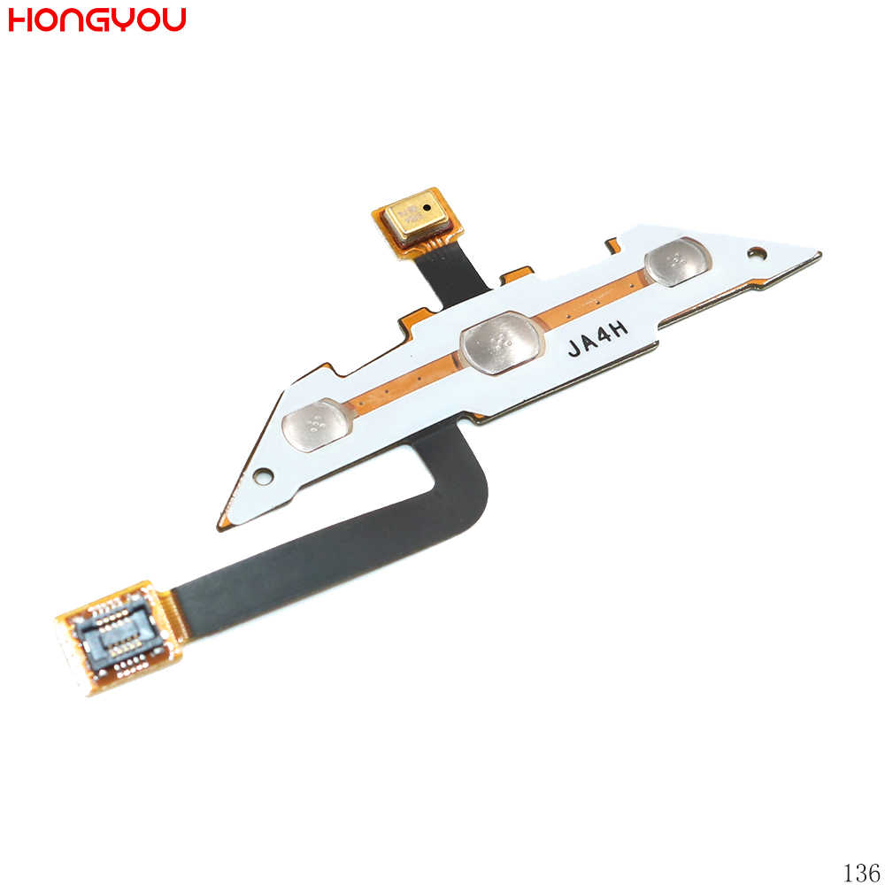 Tombol Home Menu Back Kunci Sensor Kabel Fleksibel dengan Mikrofon MIC untuk Samsung S5620 GT-S5620