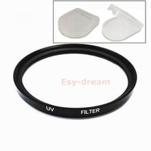25 27 30 30.5 37 40.5 43 46 49 52 55 58 mm szklany filtr UV ochrona obiektywu do obiektywów Canon Nikon Sony Pentax Olympus