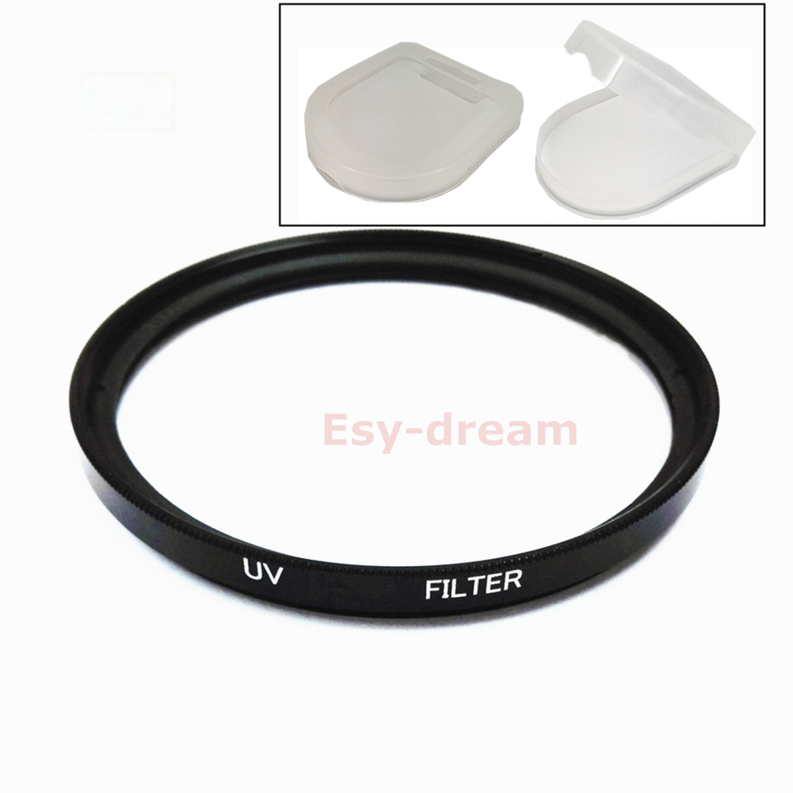 25 27 <font><b>30</b></font> <font><b>30</b></font>.5 37 40.5 43 46 49 52 55 <font><b>58</b></font> mm Glass UV Filter Lens Protection for Canon Nikon Sony Pentax Olympus Camera Lenses image