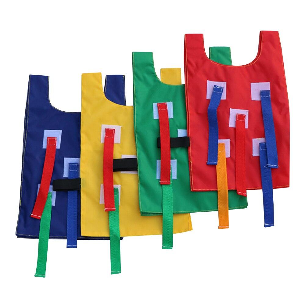 4pcs/set Outdoor Children Catch Tail Kindergarten Sport Game Vest Training Equipment Toys