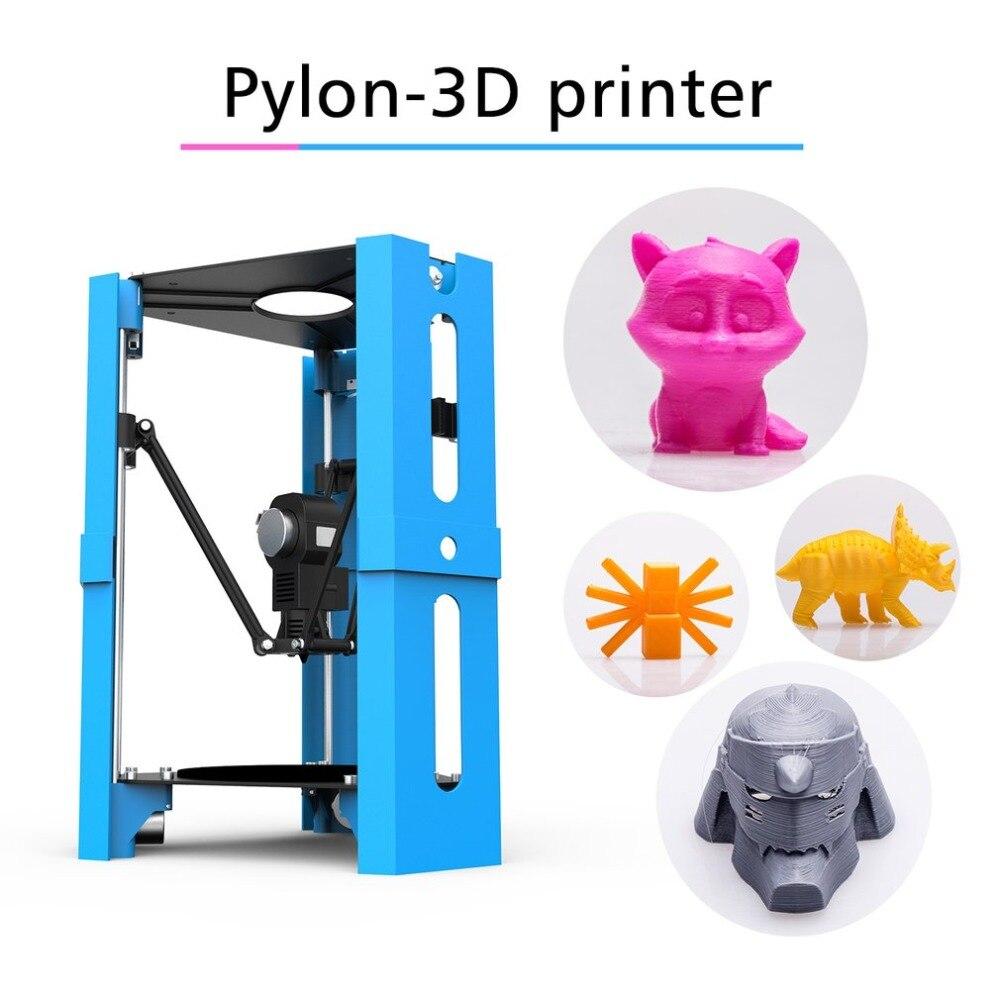 Mini BRICOLAGE Imprimante De Bureau 3D Impression 1.75mm Filament D'USB de Soutien de Sécurité Carte Numérique Haute Précision FDM Imprimante