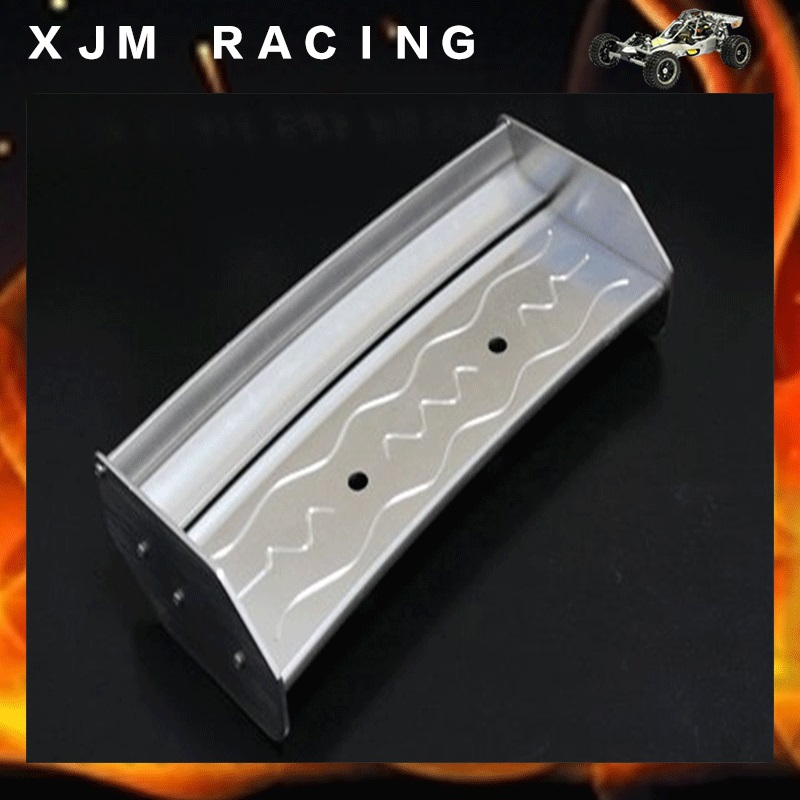 1/5 rc car racing parts,Alloy rear wing for 1/5 scale hpi rovan km baja 5b baja 5b off road rear tyres for 1 5 gas rc car hpi baja 5b parts rovan km