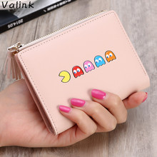 Valink Tassels Zipper&Hasp Short Wallet Female Cute Coin Purse Cartoon Women Small Wallet 2018 New Lady Clutch Bag Carteras
