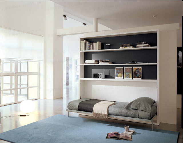 fashion murphy bed wallbed wall bed children bed small apartment ...