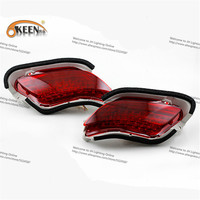 OKEEN For Toyota Rear Tail DRL Car LED Light Source Car Styling Rear Bumper Light High