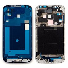 цена на New S4 Front Frame Housing For Samsung Galaxy S4 I9500 I9505 I337 I545  Front Plate Case Bezel Cover With Parts