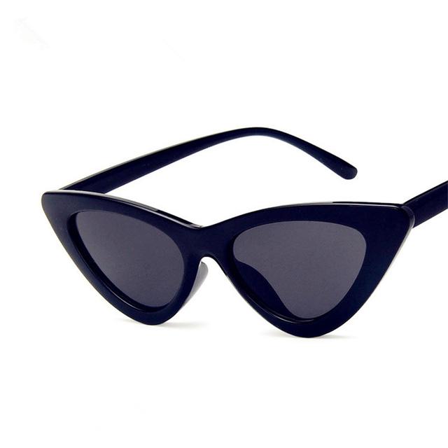 ladies cat eye sunglasses women vintage brand designer sunglasses woman 2019 luxury glasses for female uv400 Gafas de sol mujer