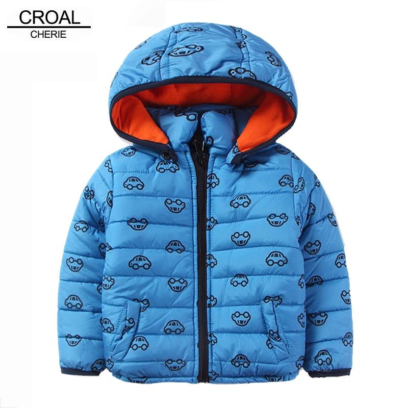croal cherie 80 120cm kawaii car printing winter coat for kids boys jacket baby parkas sky blue. Black Bedroom Furniture Sets. Home Design Ideas