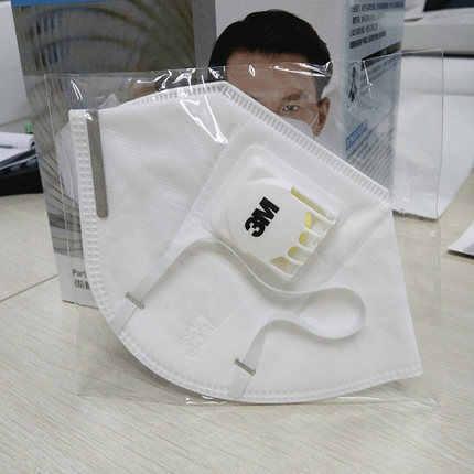 25/10 Buah 3M 9501VT Particulate Respirator Telinga Masker dengan Aliran Dingin Valve Bernapas Masker KN95 Masker Sekali Pakai LT1993