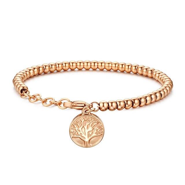 Boniskiss 2018 Trendy Charm Bracelets For Women Stainless Steel Beauty Snake Chain S Decoration Wedding Anniversary