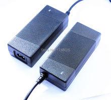 Cabo 90 cm 34 v 3870ma 3.87a ac adaptador de energia de 34 volts 3.87 ampères REINO UNIDO DA UE EUA AU plug de entrada para 100 240 v ac 5.5×2.1mm fonte de Alimentação