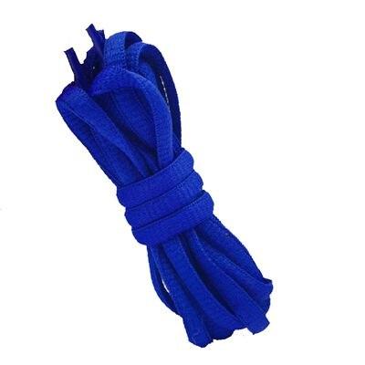 """180 см/7"""" длинный овальный плоской подошве Кружево Шнурки обуви Кружево F. спортивная обувь 24 Цвета для выбора нового - Цвет: No 18 royal blue"""