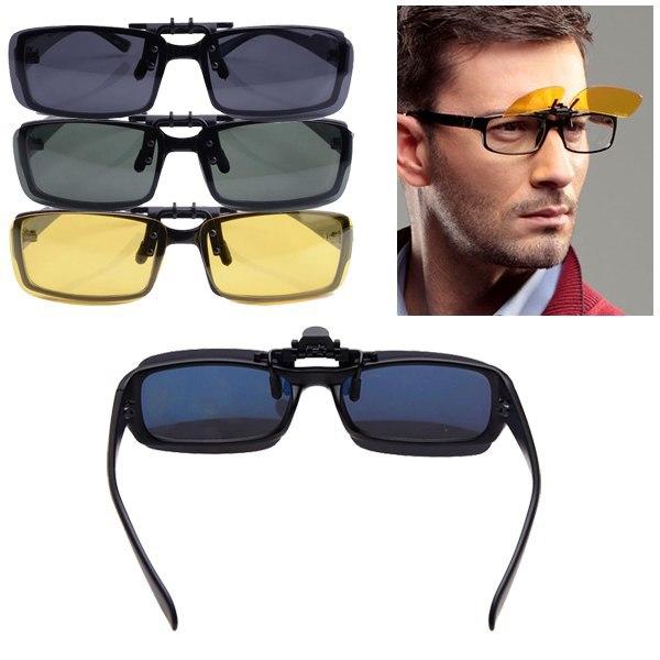 Flip Up Clip On Sunglasses  aliexpress com por cool lenses polarized flip up clip