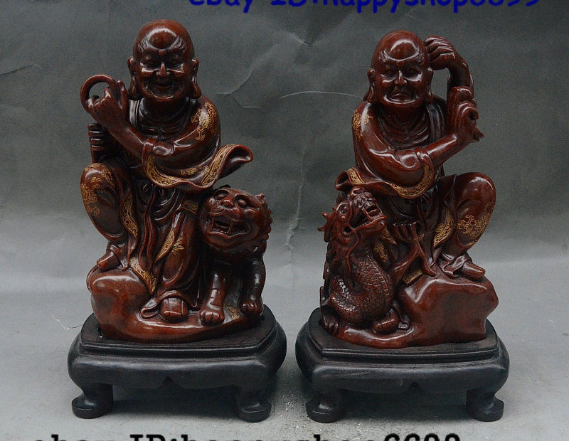 Chinese shoushan stone  Hand-carved Stone carving Statue