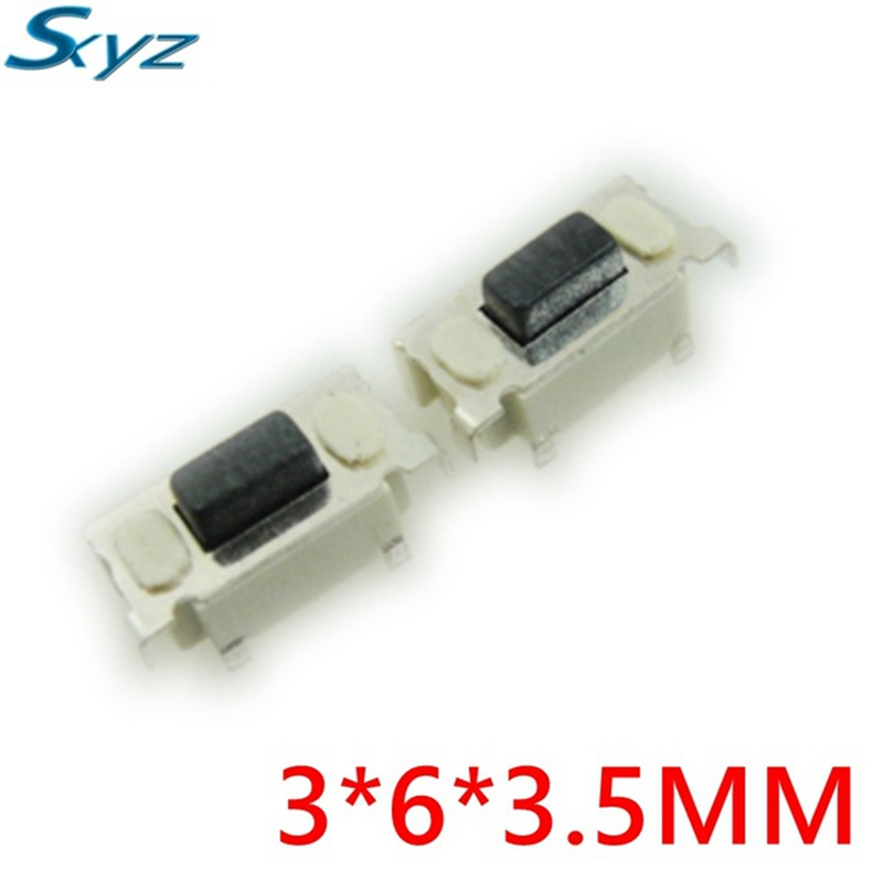 3X6X3.5 3*6*3.5 Touch switch Button switch SMD For MP3 MP4 Tablet PC Button Bluetooth Headset Remote