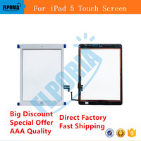For IPad 5 Touch Screen Digitizer Display Glass Assembly Includes Home Button And Flex Camera Holder