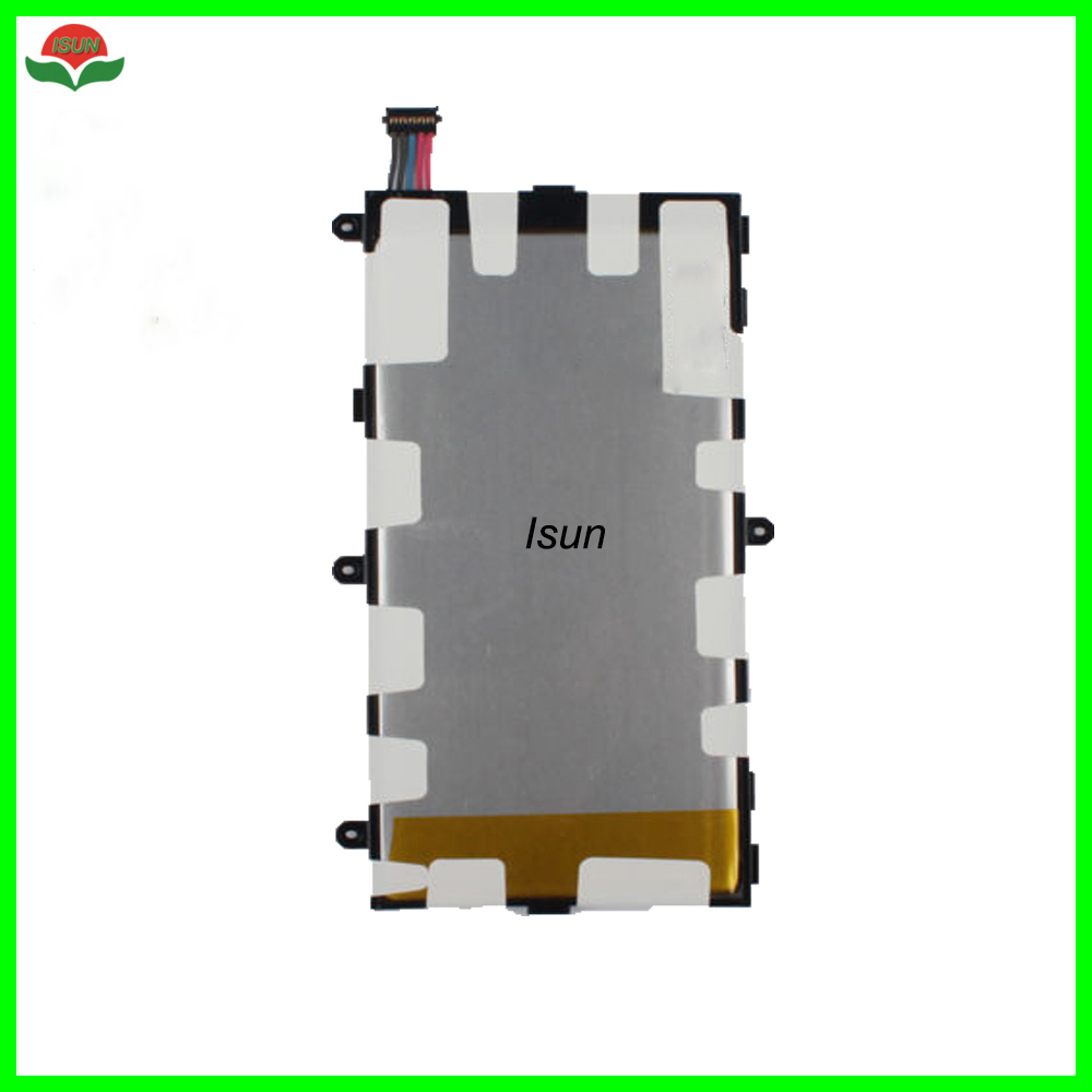 ISUN 5pcs/lot <font><b>T4000E</b></font> 4000mAh Battery For Samsung GALAXY Tab3 7.0 T210 T211 T2105 T217A Replacement Batteries image