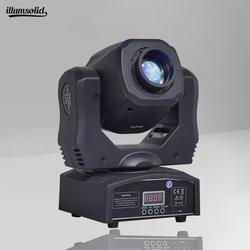 60 Вт Мини светодиодный DMX Gobo; поворачивающаяся головка пятно света клуб DJ сценическое вечерние партии диско фонарь с подвижной головкой