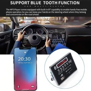 Image 5 - kebidu Wireless Car USB MP3 Player Integrated Bluetooth Hands free MP3 Decoder Board Module with Remote Control USB Aux Radio