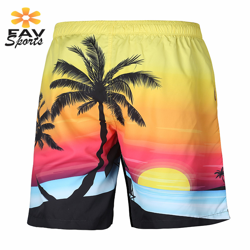3D Printed Quick Dry Summer Mens Siwmwear Mens Beach   Board     Shorts   Briefs For Men Swim Trunks Swim   Shorts   Beach Wear