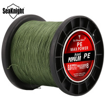 SeaKnight TP1000M x8 Strands Braid Fishing Line PE 1000m Japan Multifilament 20-120LB Strong Carp Fishing Saltwater/Freshwater