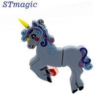 STmagic Unicorn style pendrive 4GB 8GB 16GB 32GB Stick USB Flash Drive