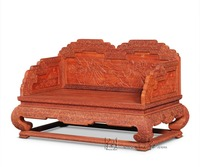 2 мест императорский трон палисандр новый современный китайский Классическая шезлонг деревянный для отдыха стулья Гостиная роскошный отел