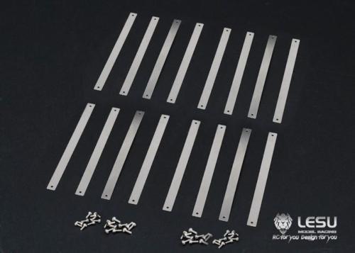 Fernbedienung Spielzeug Sammeln & Seltenes Lesu Doppel-welle Kotflügel 1/14 Tamiya Rc Scania Zugmaschine Metall Streifen Th04773 Profitieren Sie Klein
