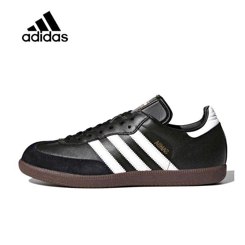 Genuine Adidas Sneakers New Originals Sports Black White Stripe Men Skateboarding Shoes Low-top Adidas Sneakers for Men adidas samoa kids casual sneakers