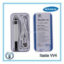 Itaste VV4 электронная сигарета микропроцессорным управлением VV4 VV4-M 750 1000 мАч innokin itaste Батарея 510 Нитки