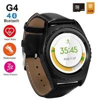 NO. 1 G4 Bluetooth Smart Uhr Unterstützung Sim TF Karte Herzfrequenz gesundheit Monitor Smartwatch für iPhone 6 s für Samsung getriebe s2 PK G3