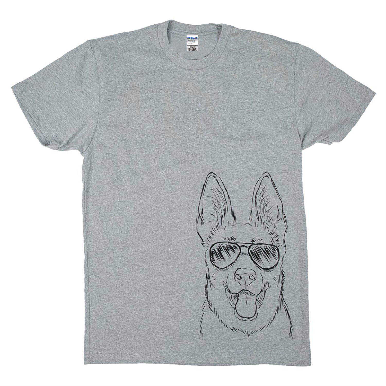 Design t shirt online uk - Design T Shirt Men S High Quality Inkopious Men S German Shepherd With Sunglasses T Shirt