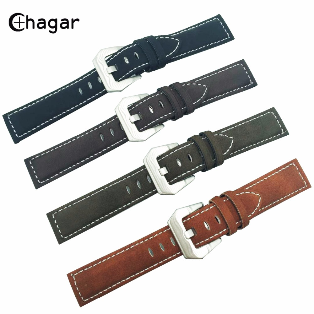 Genuine Handmade Leather Watchband Matte Nubuck Leather watch Strap bracelet wristband accessories for Men women Universal Watch women crocodile leather watch strap for vacheron constantin melisa longines men genuine leather bracelet watchband montre