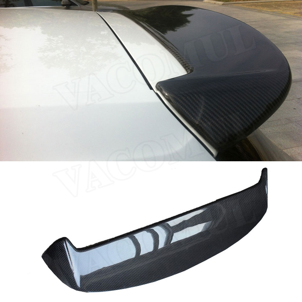 Carbon Fiber Rear Roof Trunk Spoiler Wings for Volkswagen VW <font><b>Golf</b></font> 7 VII MK7 7.5 Standard 2014-2019 Not For GTI and <font><b>R</b></font> image
