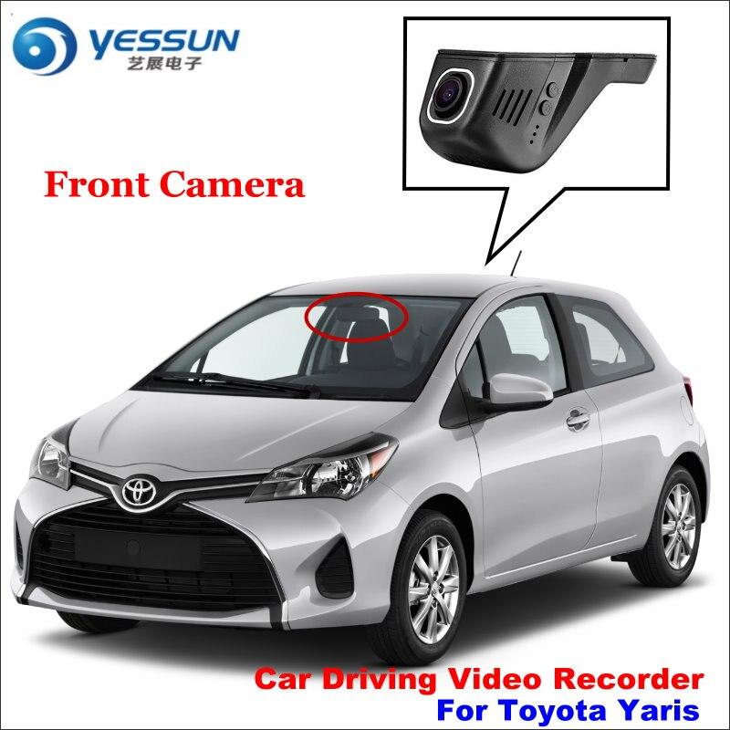 YESSUN voiture DVR conduite enregistreur vidéo pour Toyota Yaris caméra avant automatique Dash CAM tête haute prise OEM 1080 P WIFI téléphone APP