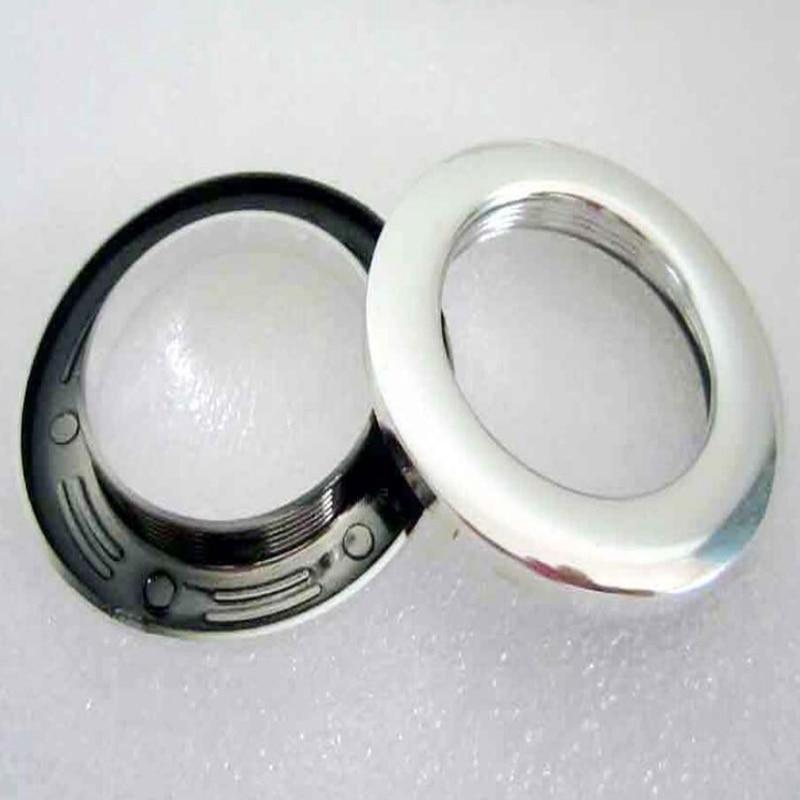 80 stks/partij Silver Home Windows Gordijn Accessoires Plastic Punch ...