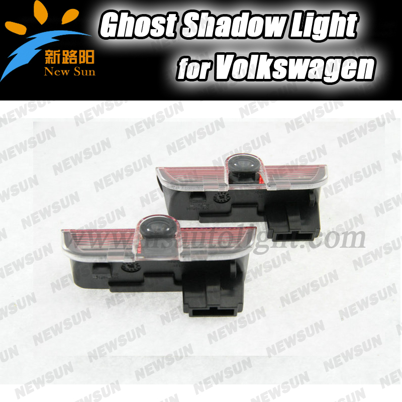 car door light ghost shadow welcome light logo projector emblem For VW Golf 6 GTI JETTA MK5 MK6 CC Tiguan Passat B6 car door welcome laser projector logo door ghost shadow led light for vw volkswagen tiguan golf 5 6 7 passat b7 eos etc