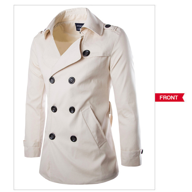 Mens Trench Coat Mens Mid...
