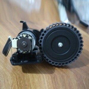 Image 2 - Sol tekerlek robotlu süpürge parçaları aksesuarları ilife A4 A4s A40 A8 T4 X430 X432 X431 robotlu süpürge tekerlekli motorlar