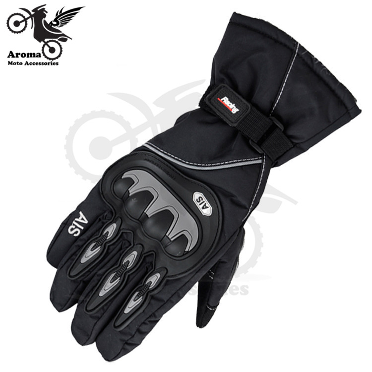 red black Unisex Outdoor Sports Winter Windproof warm Thick Snow Ski snowboard gloves Motorcycle Cycling Bicycle Skiing Gloves
