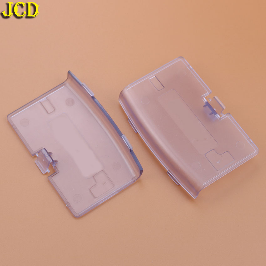 Image 4 - JCD 1pcs For Nintend Gameboy Advance Battery Cover Lid Door Replacement For GBA Console Back Door Case-in Cases from Consumer Electronics