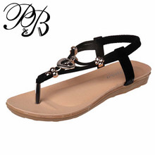 2016 new student flat women's sandals flip flops women sandals ladies spring summer shoes woman best #Y0562206Q