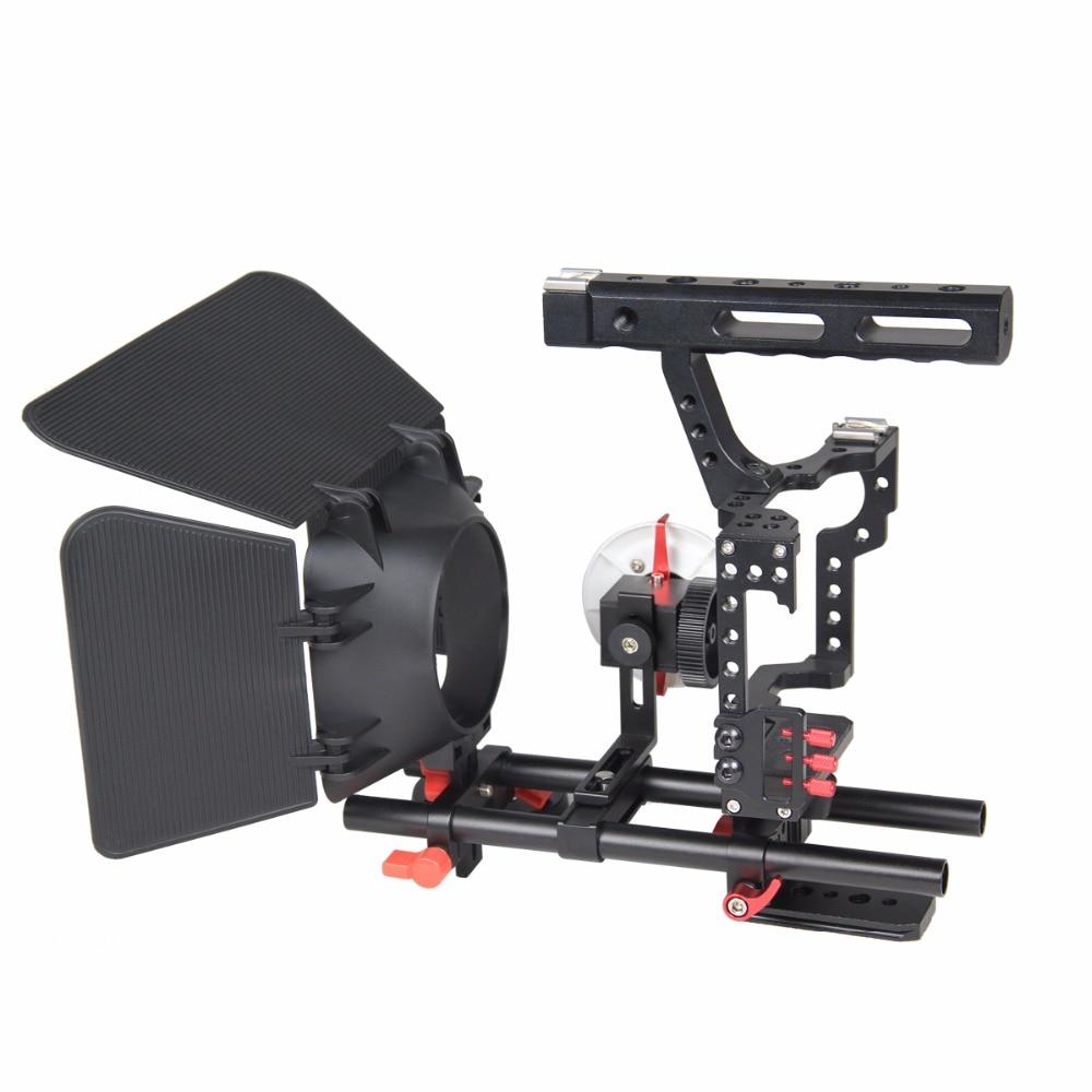 Professionele Aluminium Camera Video Cage Rig Kit Systeem Voor Sony - Camera en foto - Foto 5